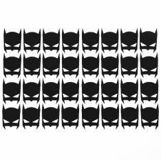 Wall stickers - Små Batman ikoner