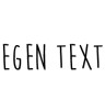 Wall stickers - Egen text - Typsnitt 7 (80cm)