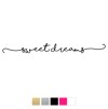 Wall stickers - Sweet dreams - Svart