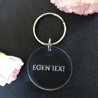 Nyckelring - Egen text