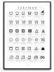 Poster - Tvättråd - A3 matt fotopapper