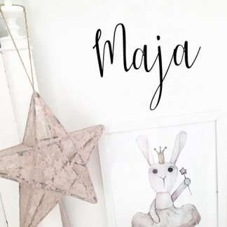 Wall stickers - Egen text - Svart