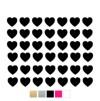 Wall stickers Hjärtan - Valfri färg