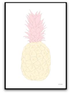 Ananas - A4 matt fotopapper