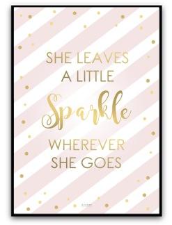 Poster - Sparkle - A4matt fotopapper