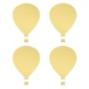 Wall stickers - Air balloon - Guld