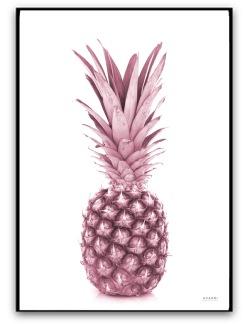 Poster - Ananas - A4 matt fotopapper