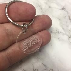 Smycke - Namn och nummer