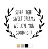 Wall stickers - Sleep tight