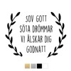 Wall stickers - Sov gott