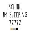 Wall stickers - Schhh! Im sleeping