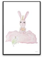 Bunny and prince frog