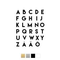 Wallstickers - Alfabetet