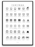 Poster - Tvättråd
