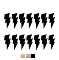 Wall stickers - Stora blixtar