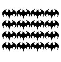 Wall stickers - Batman ikon 6cm