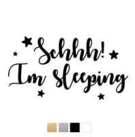 Wall stickers - Schhh! Im sleeping