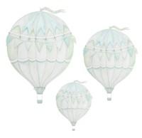 Wall stickers - Green air balloon