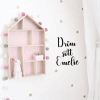 Wall stickers - Dröm sött med eget namn