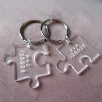 Puzzel nyckelring - Tillsammans