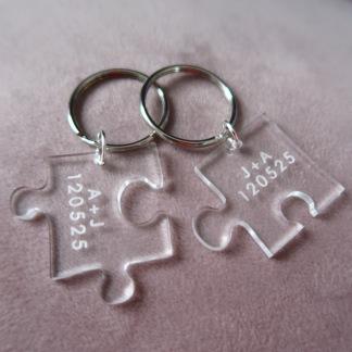 Puzzel nyckelring - Tillsammans -
