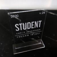 Studentskylt