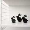 Siluett - Kaniner
