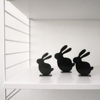 Siluett - Kaniner -