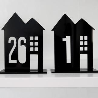 Skylt - Husnummer - 13cm