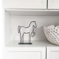 Siluett - Häst