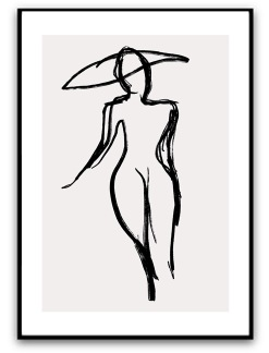 Poster - woman - Matt A4
