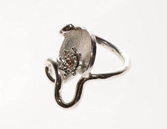 Näckrosen, silverring