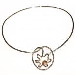 Silverhalsband / Silver necklace