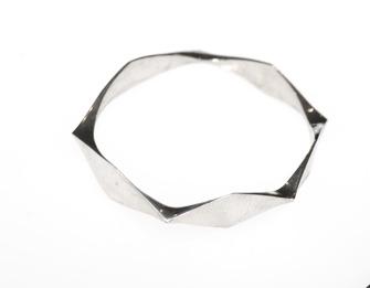 Handgjort silverarmband/ Handmade silver wristband