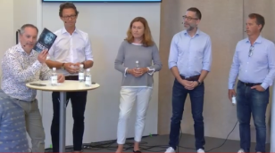 Ingrid inleder seminariet i Almedalen  2:a juli 2019