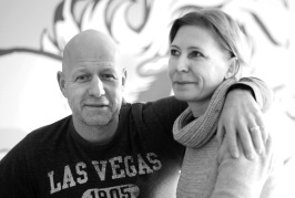 Your hosts, Anne and Stefan Lundgren.