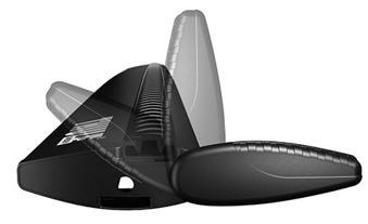 Thule WingBar - WingBar Black 108 cm
