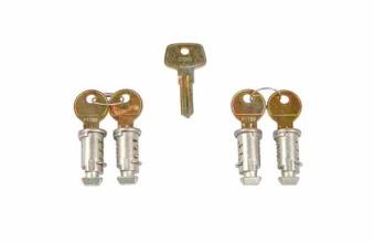 Låssats One Key-system 4-pack - Låssats One Key-system 4-pack
