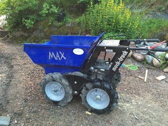 Minidumper - Muck Truck Max