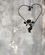 Hjärta med ros