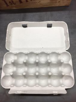 Ägg kartong - Ägg kartong 18 ägg