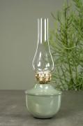 Lampa/värmeljus grön