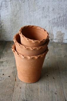 Terrakotta kruka - 1terrakotta kruka h11,5 d 12 cm