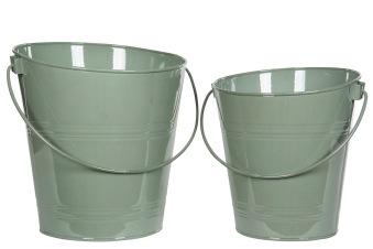 Blomsterhink grön - Blomsterhink grön stor 30 cm hög 29 cm breddr