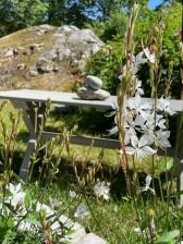 Trädgårdsbänk Finken Grågrön