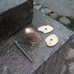 Snoppen skimsades in och justering av längd + armering med rostfritt stål
