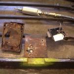 Låsen restaureras.
