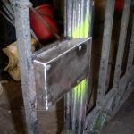 Ny låskista tillverkas och monteras.