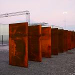 Port 2 helsvetsad och ingjuten, bild tagen av Mats Liliequist