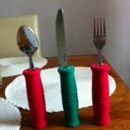 Handbandsrullen vid måltid,etc.